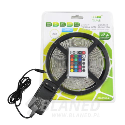 taśma LED RGB