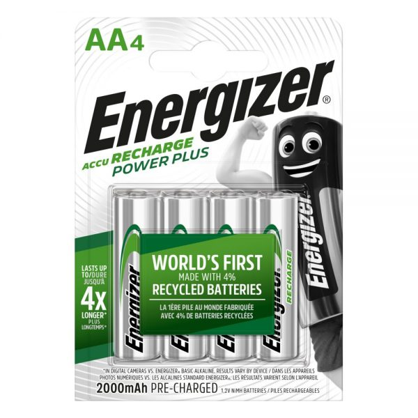 Akumulatorki AA / R6 Energizer
