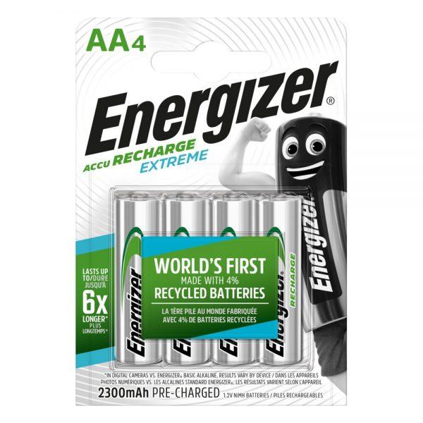 Akumulatorki Energizer R6/AA Ni-MH 2300mAh Extreme