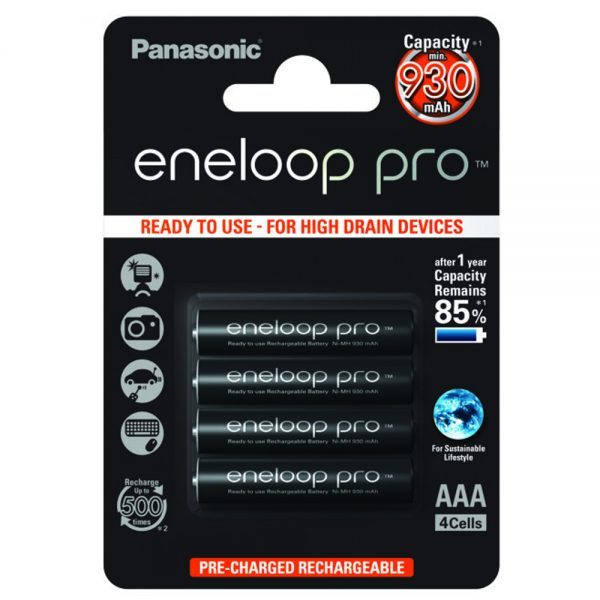 Akumulatorki Panasonic Eneloop PRO