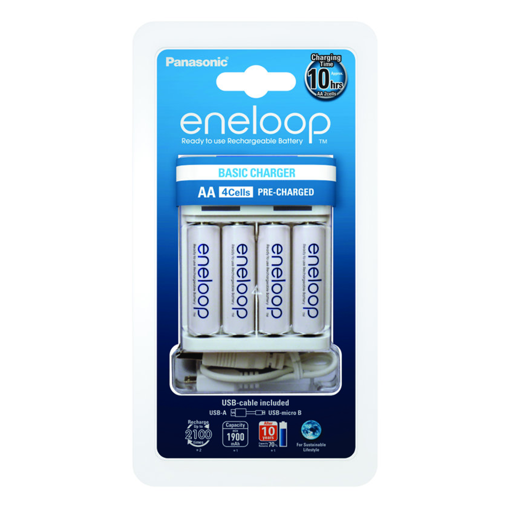 Ładowarka Panasonic Eneloop BQ-CC61 USB