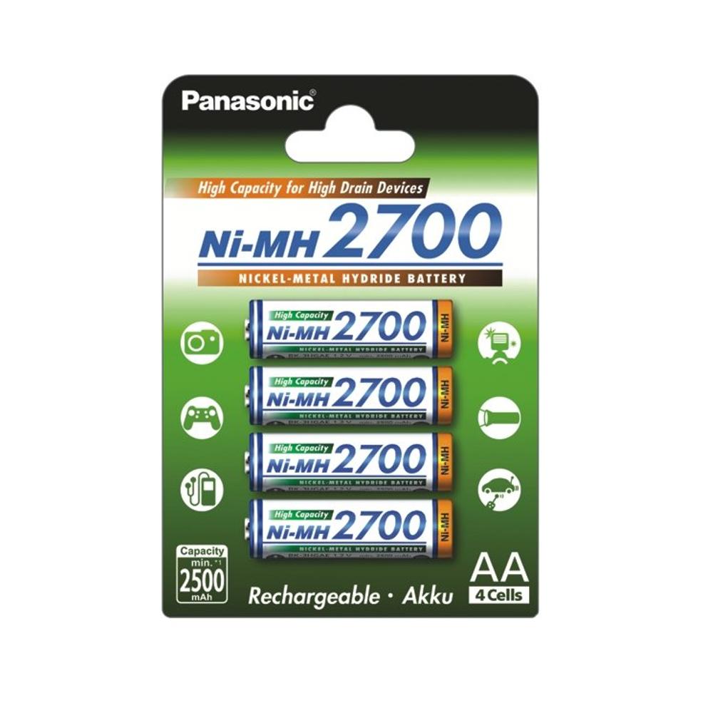 Panasonic AA 2700mAh