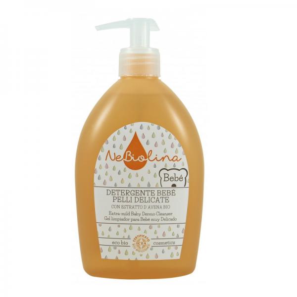 niezwykle-delikatny-zel-do-mycia-dla-dzieci-z-ekologicznym-ekstraktem-z-owsa-certyfikowany-nebiolina-500-ml