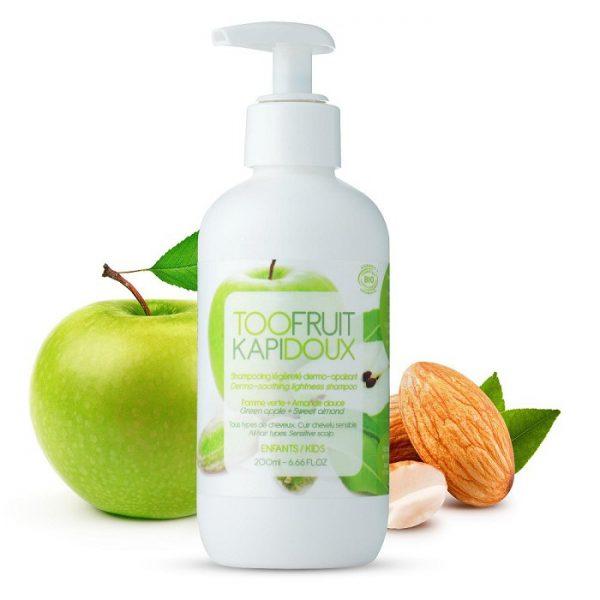 szampon-dermo-kojacy-dla-dzieci-zielone-jablko-i-migdaly-bez-silikonu-i-siarczanow-200ml-toofruit