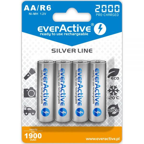 Akumulatorki AA / R6 everActive